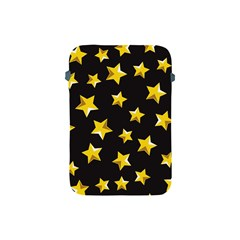 Yellow Stars Pattern Apple Ipad Mini Protective Soft Cases by Onesevenart