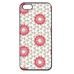 Stamping Pattern Fashion Background Apple Iphone 5 Seamless Case (black) by Onesevenart