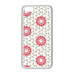 Stamping Pattern Fashion Background Apple Iphone 5c Seamless Case (white) by Onesevenart