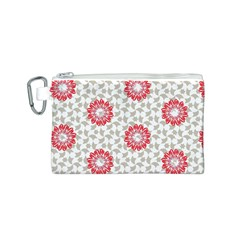 Stamping Pattern Fashion Background Canvas Cosmetic Bag (s) by Onesevenart