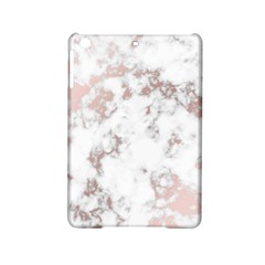 Pure And Beautiful White Marple And Rose Gold, Beautiful ,white Marple, Rose Gold,elegnat,chic,modern,decorative, Ipad Mini 2 Hardshell Cases by 8fugoso