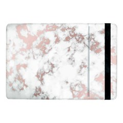 Pure And Beautiful White Marple And Rose Gold, Beautiful ,white Marple, Rose Gold,elegnat,chic,modern,decorative, Samsung Galaxy Tab Pro 10 1  Flip Case by 8fugoso