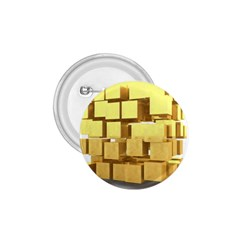 Gold Bars Feingold Bank 1 75  Buttons by Onesevenart