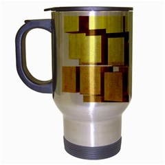 Gold Bars Feingold Bank Travel Mug (silver Gray) by Onesevenart