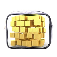 Gold Bars Feingold Bank Mini Toiletries Bags by Onesevenart