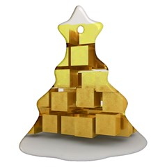 Gold Bars Feingold Bank Ornament (christmas Tree)  by Onesevenart