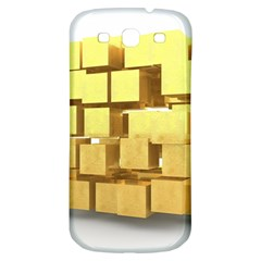 Gold Bars Feingold Bank Samsung Galaxy S3 S Iii Classic Hardshell Back Case by Onesevenart