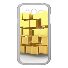 Gold Bars Feingold Bank Samsung Galaxy Grand Duos I9082 Case (white) by Onesevenart