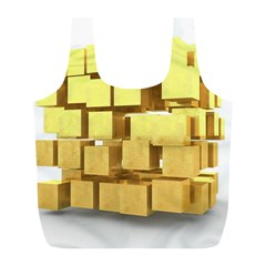 Gold Bars Feingold Bank Full Print Recycle Bags (l)  by Onesevenart