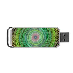 Wire Woven Vector Graphic Portable Usb Flash (one Side) by Onesevenart