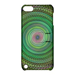 Wire Woven Vector Graphic Apple Ipod Touch 5 Hardshell Case With Stand by Onesevenart