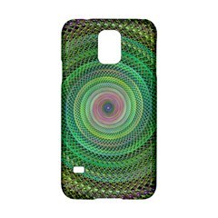 Wire Woven Vector Graphic Samsung Galaxy S5 Hardshell Case  by Onesevenart