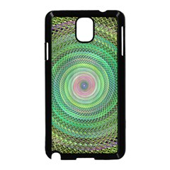 Wire Woven Vector Graphic Samsung Galaxy Note 3 Neo Hardshell Case (black) by Onesevenart