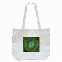 Wire Woven Vector Graphic Tote Bag (white) by Onesevenart