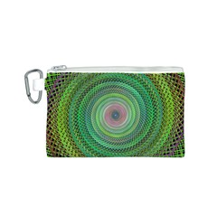 Wire Woven Vector Graphic Canvas Cosmetic Bag (s) by Onesevenart