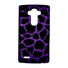 Skin1 Black Marble & Purple Brushed Metal Lg G4 Hardshell Case by trendistuff