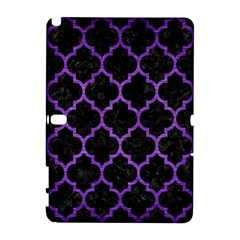 Tile1 Black Marble & Purple Brushed Metal (r) Galaxy Note 1 by trendistuff