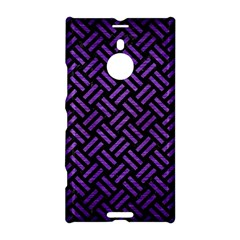 Woven2 Black Marble & Purple Brushed Metal (r) Nokia Lumia 1520 by trendistuff