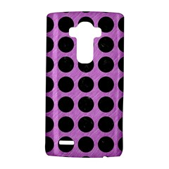 Circles1 Black Marble & Purple Colored Pencil Lg G4 Hardshell Case by trendistuff