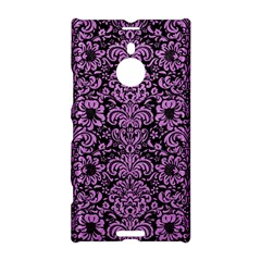 Damask2 Black Marble & Purple Colored Pencil (r) Nokia Lumia 1520 by trendistuff