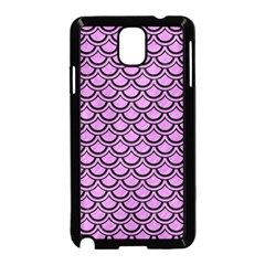 Scales2 Black Marble & Purple Colored Pencil Samsung Galaxy Note 3 Neo Hardshell Case (black) by trendistuff