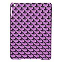 Scales3 Black Marble & Purple Colored Pencil Ipad Air Hardshell Cases by trendistuff