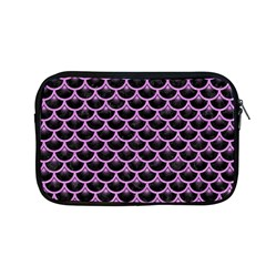 Scales3 Black Marble & Purple Colored Pencil (r) Apple Macbook Pro 13  Zipper Case by trendistuff