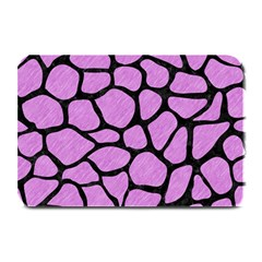 Skin1 Black Marble & Purple Colored Pencil (r) Plate Mats by trendistuff