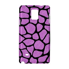 Skin1 Black Marble & Purple Colored Pencil (r) Samsung Galaxy Note 4 Hardshell Case