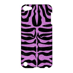 Skin2 Black Marble & Purple Colored Pencil (r) Apple Ipod Touch 5 Hardshell Case by trendistuff