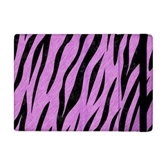 Skin3 Black Marble & Purple Colored Pencil Apple Ipad Mini Flip Case by trendistuff