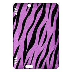 Skin3 Black Marble & Purple Colored Pencil Kindle Fire Hdx Hardshell Case by trendistuff