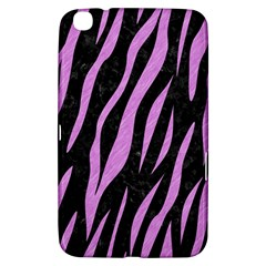 Skin3 Black Marble & Purple Colored Pencil (r) Samsung Galaxy Tab 3 (8 ) T3100 Hardshell Case  by trendistuff