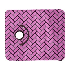 Brick2 Black Marble & Pink Colored Pencil Galaxy S3 (flip/folio) by trendistuff