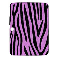 Skin4 Black Marble & Purple Colored Pencil (r) Samsung Galaxy Tab 3 (10 1 ) P5200 Hardshell Case  by trendistuff