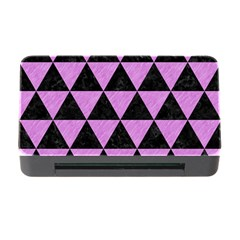 Triangle3 Black Marble & Purple Colored Pencil Memory Card Reader With Cf by trendistuff