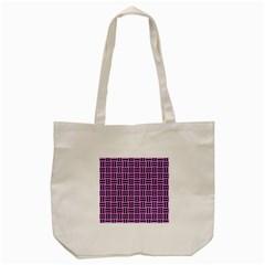 Woven1 Black Marble & Purple Colored Pencil Tote Bag (cream) by trendistuff