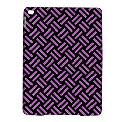 Woven2 Black Marble & Purple Colored Pencil (r) Ipad Air 2 Hardshell Cases by trendistuff