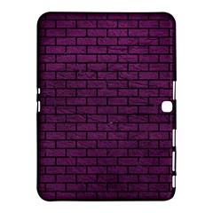 Brick1 Black Marble & Purple Leather Samsung Galaxy Tab 4 (10 1 ) Hardshell Case  by trendistuff