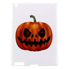 Halloween Pumpkin Apple Ipad 3/4 Hardshell Case by Valentinaart