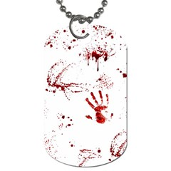 Massacre  Dog Tag (two Sides) by Valentinaart