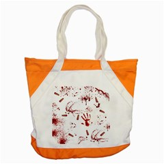 Massacre  Accent Tote Bag by Valentinaart