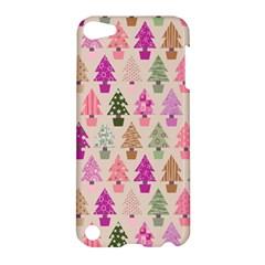 Christmas Tree Pattern Apple Ipod Touch 5 Hardshell Case by Valentinaart
