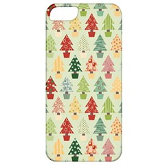 Christmas Tree Pattern Apple Iphone 5 Classic Hardshell Case by Valentinaart