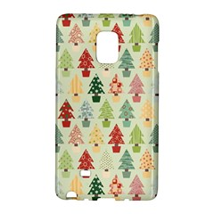 Christmas Tree Pattern Galaxy Note Edge by Valentinaart