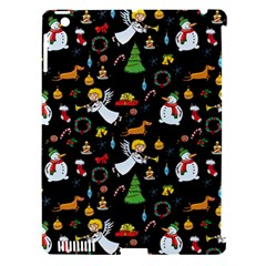 Christmas Pattern Apple Ipad 3/4 Hardshell Case (compatible With Smart Cover) by Valentinaart