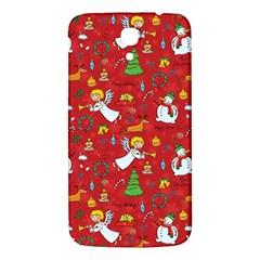 Christmas Pattern Samsung Galaxy Mega I9200 Hardshell Back Case by Valentinaart