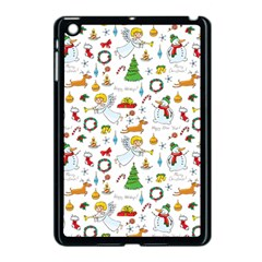 Christmas Pattern Apple Ipad Mini Case (black) by Valentinaart