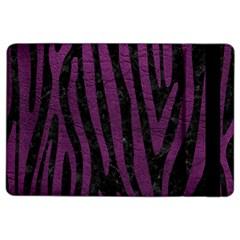 Skin4 Black Marble & Purple Leather Ipad Air 2 Flip by trendistuff