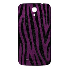 Skin4 Black Marble & Purple Leather (r) Samsung Galaxy Mega I9200 Hardshell Back Case by trendistuff
